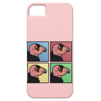 Four Color California Condor Case For The iPhone 5