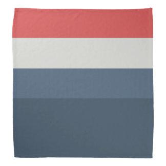 Four Color Combo - Red Gray Blue Dark Blue Bandana