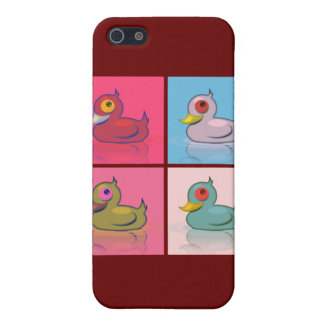 Four Colorful Ducks iPhone 5 Cover