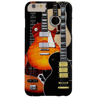Four Cool Guitars Barely There iPhone 6 Plus Case