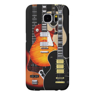 Four Cool Guitars Samsung Galaxy S6 Cases