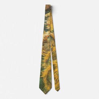 Four Cut Sunflowers by Vincent van Gogh, Fine Art Tie