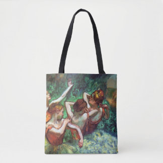 Four Dancers by Degas Tote Bag