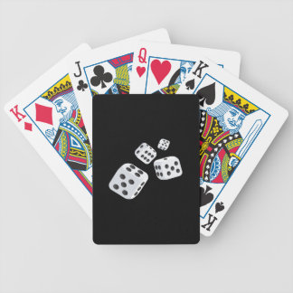 Four Dice Bicycle Playing Cards