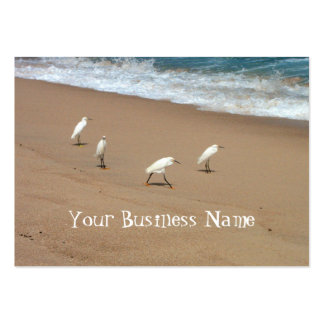 Four Egrets Business Cards