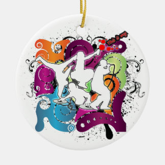 Four Elements 101 Ceramic Ornament