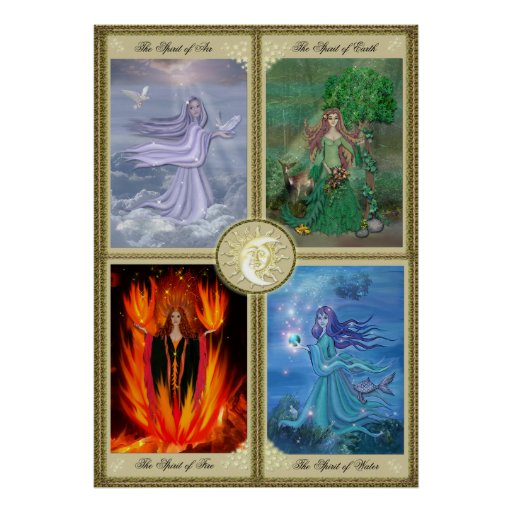 Four Elements Poster