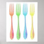 Four Forks Kicthen print