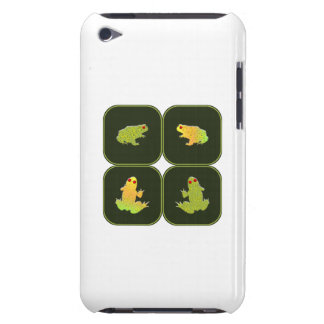 Four frogs barely there iPod case
