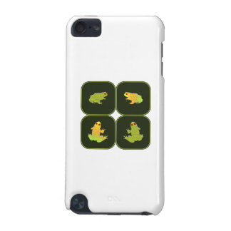 Four frogs iPod touch 5G cases