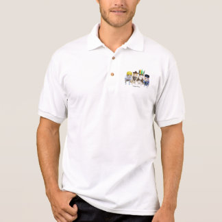 Four Funny Cats Polo