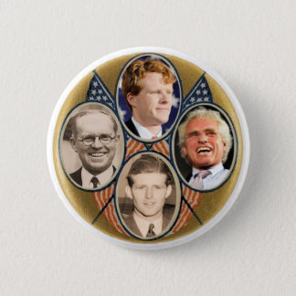 Four Generatrions of Joe Kennedys 6 Cm Round Badge