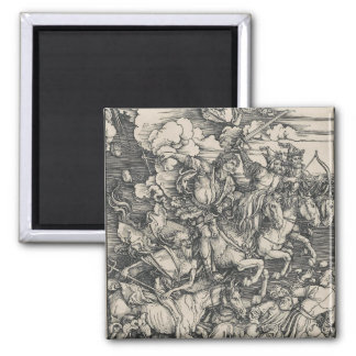 Four Horsemen of the Apocalypse by Durer Magnet
