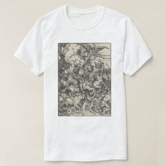 Four Horsemen of the Apocalypse by Durer T-Shirt