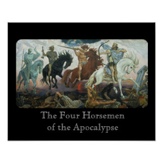 Four Horsemen of the Apocalypse Poster