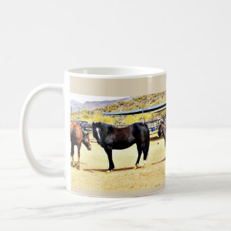 Four Horses and A Donkey Coffee Cup