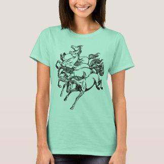 four horses T-Shirt