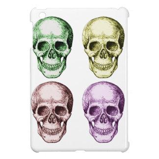 Four human skulls cover for the iPad mini
