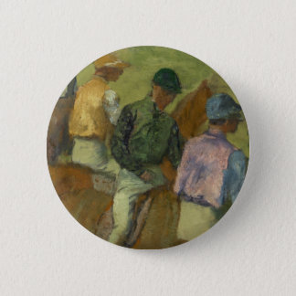 Four Jockeys 6 Cm Round Badge
