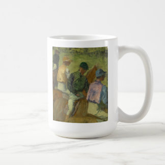 Four Jockeys Coffee Mug