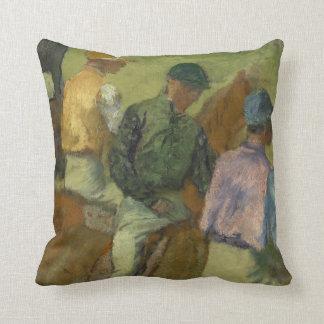 Four Jockeys Cushion