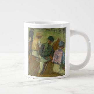 Four Jockeys Large Coffee Mug