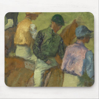 Four Jockeys Mouse Pad