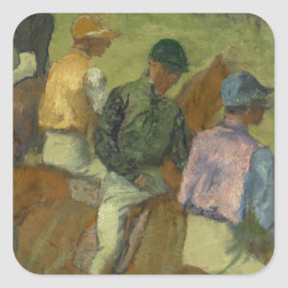 Four Jockeys Square Sticker