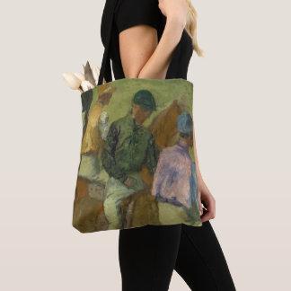 Four Jockeys Tote Bag
