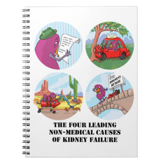 Four Leading Causes of Non-Medical Kidney Failure Notebooks