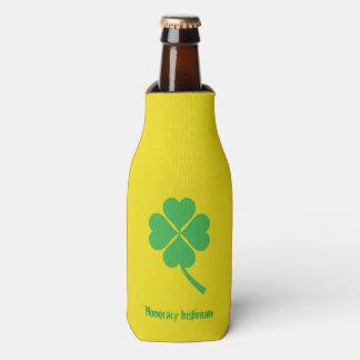 Four-leaf clover bottle cooler