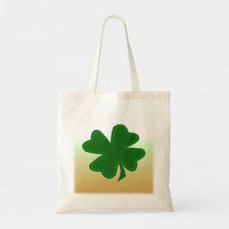 Four Leaf Clover Budget Tote Bag