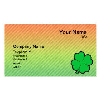 Four Leaf Clover Business Card