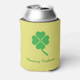 Four-leaf clover can cooler