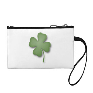 Four Leaf Clover Coin Purse