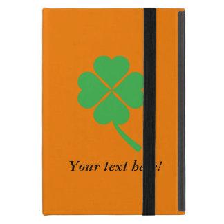 Four-leaf clover cover for iPad mini