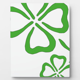 Four-Leaf-Clover Display Plaque