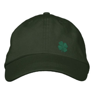 Four Leaf Clover Embroidered Hat