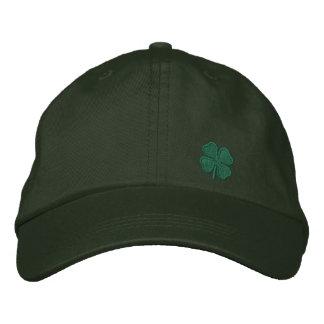 Four Leaf Clover Embroidered Hat