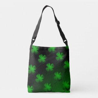 Four Leaf Clover Gradient Crossbody Bag