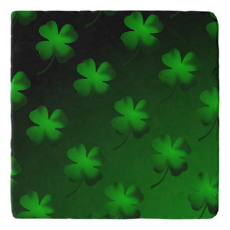 Four Leaf Clover Gradient Trivet