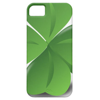 FOUR LEAF CLOVER HAT BARELY THERE iPhone 5 CASE
