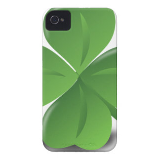 FOUR LEAF CLOVER HAT iPhone 4 COVER