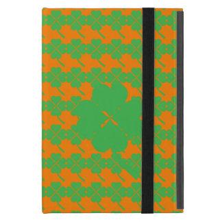 Four-leaf clover iPad mini cover