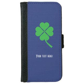 Four-leaf clover iPhone 6 wallet case