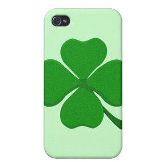 Four Leaf Clover - Irish Shamrock Case For The iPhone 4