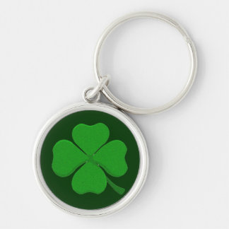 Four Leaf Clover Key Ring