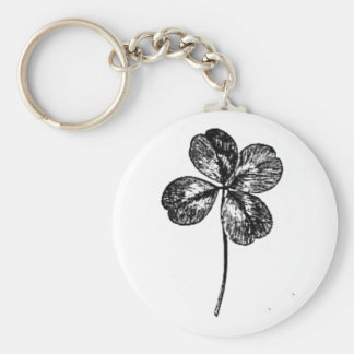 four-leaf clover key chains