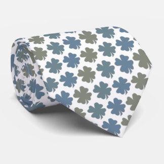 Four Leaf Clover Luck Of The Irish Tie