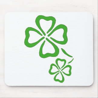Four-Leaf-Clover Mouse Pad